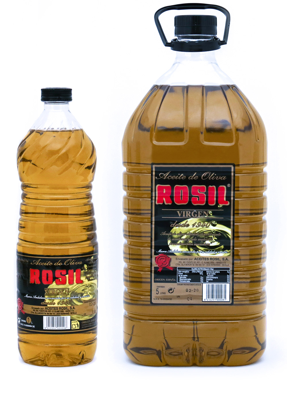Botellas Aceites Rosil - Productos Aceites Rosil