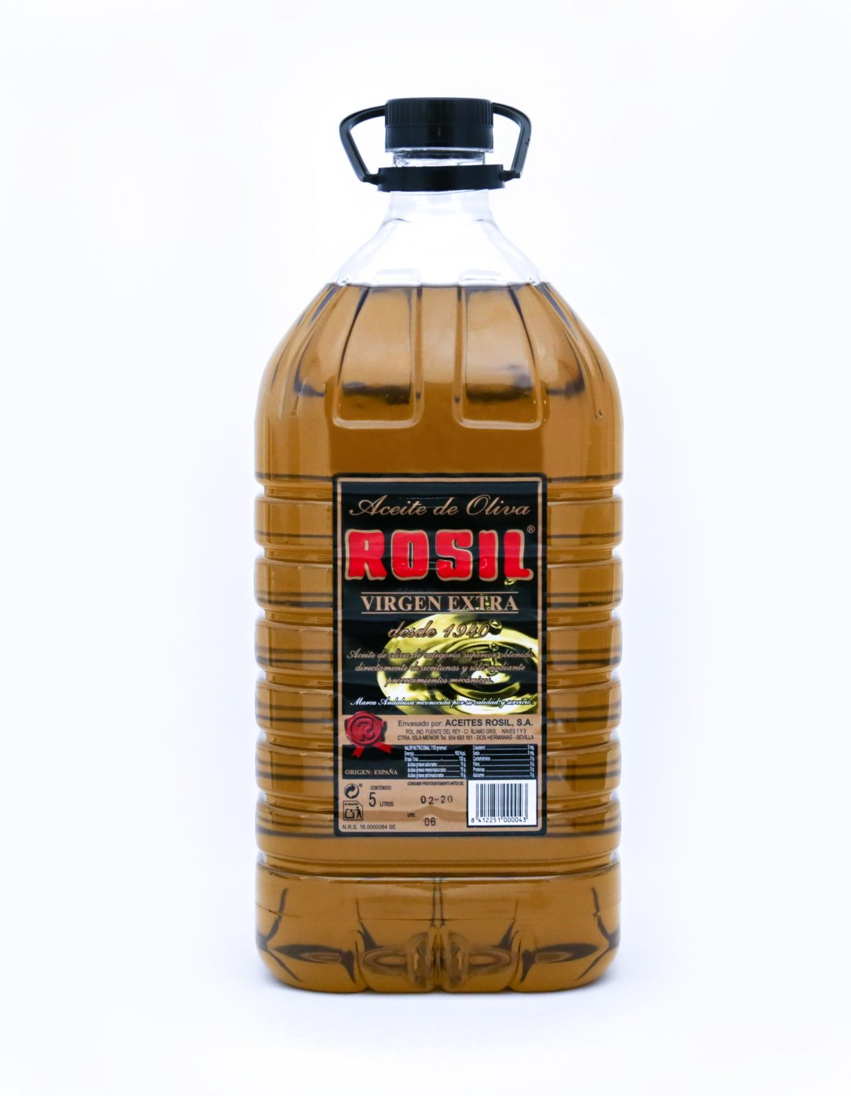 Aceite de Oliva Virgen Extra Rosil