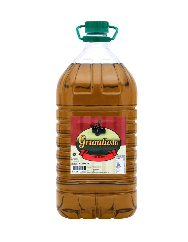 Aceite de oliva Virgen Extra  marca Grandioso
