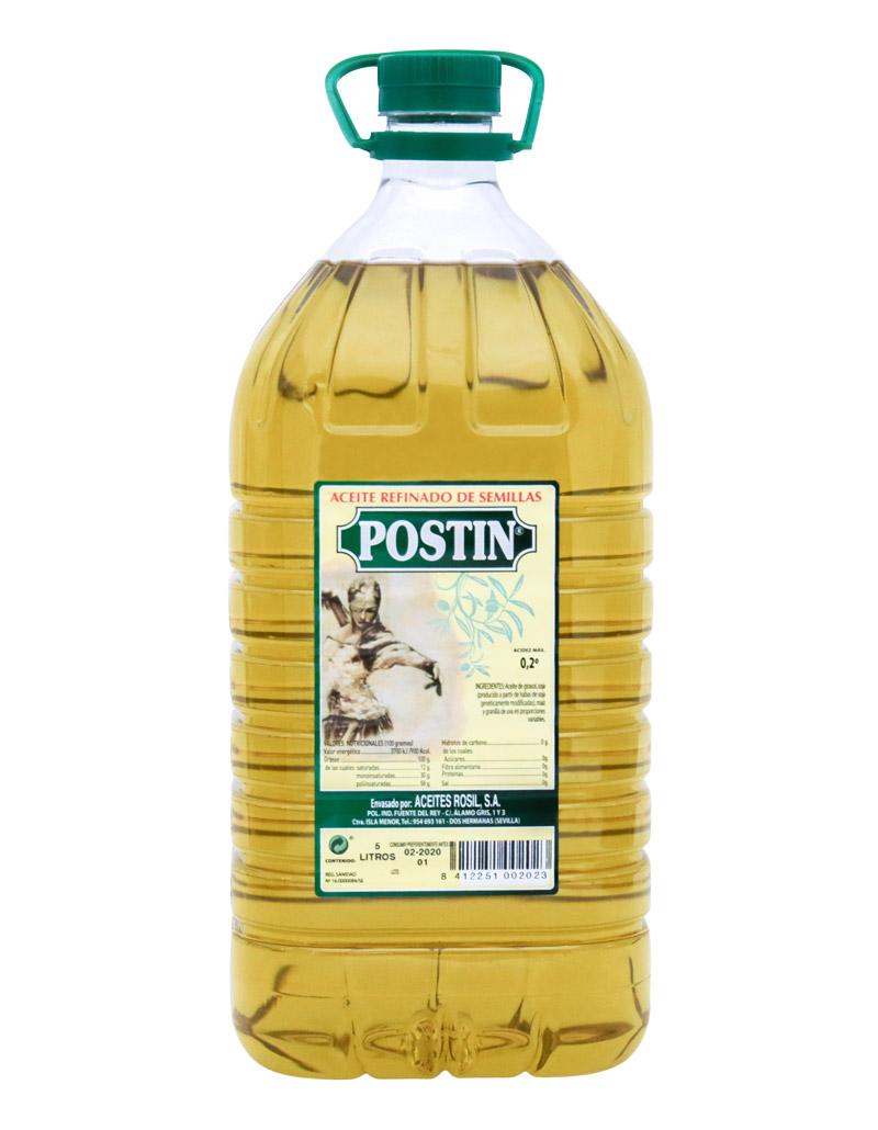 Aceites de semillas Postín