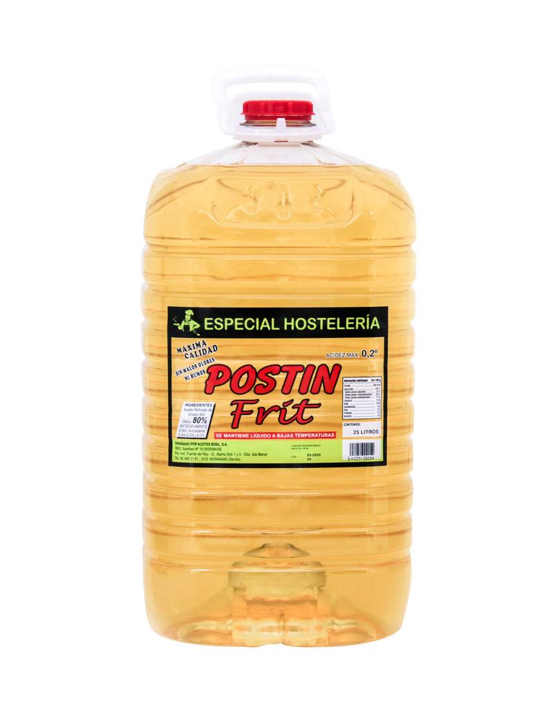Aceite de girasol alto oleico - aceite especial para hostelería